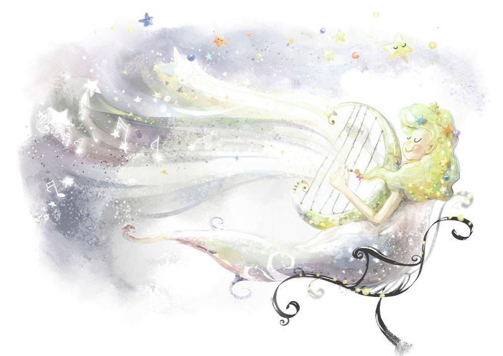Оформить, открытка нежности и волшебства
