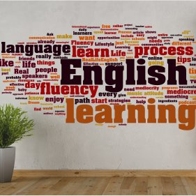 наклейки English learning