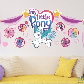 наклейки My Little Pony