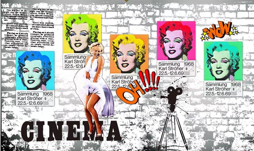 Фотообои Поп-Арт купить на стену, 3D Фото и Цены в каталоге ... | 594x998