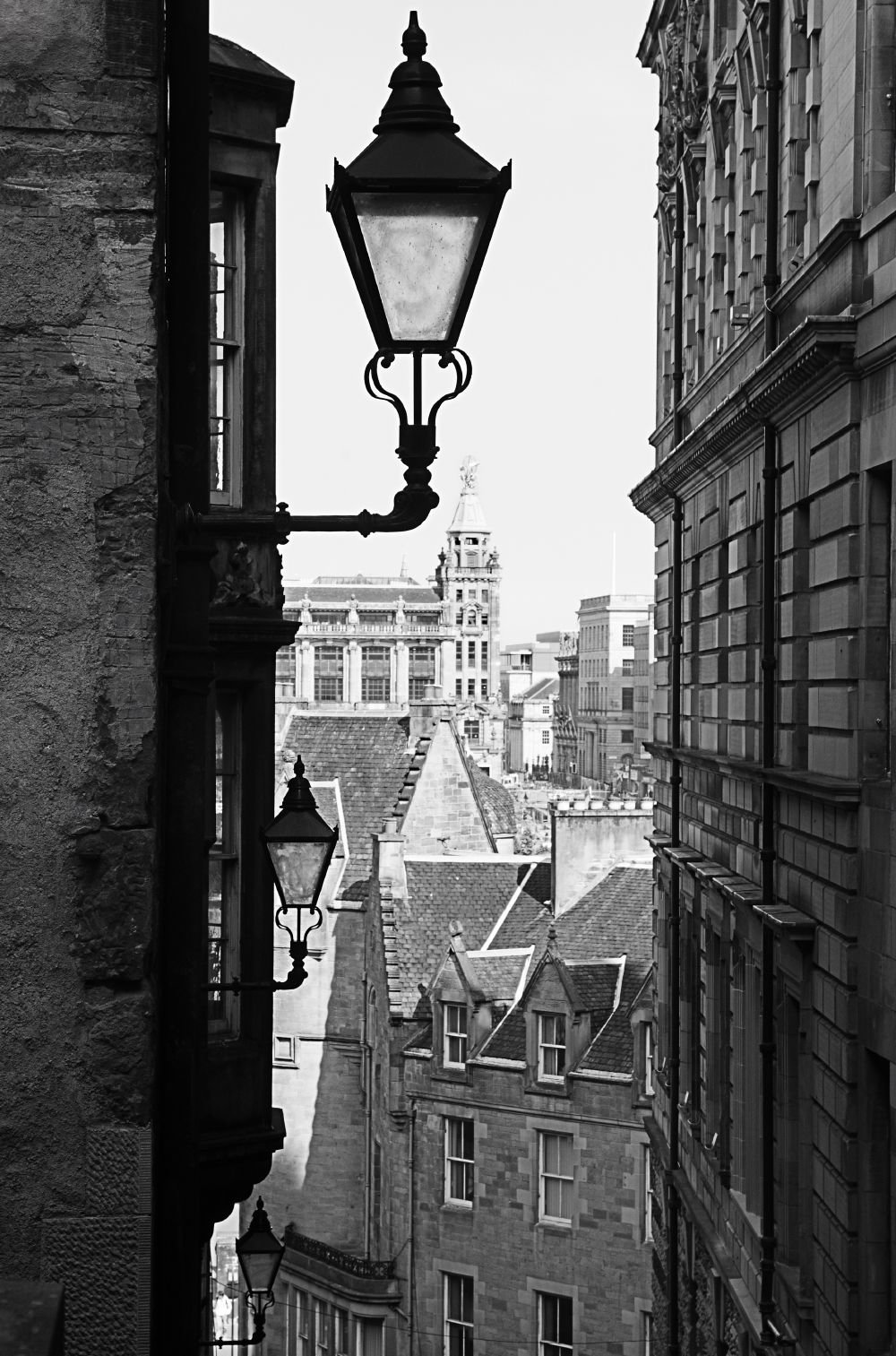 Обои улица, здания, фонари, красота, лестница. Города foto 9